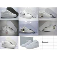 China nike sneakers, sport shoes,   air force ones in all white on sale