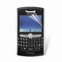 Wholesale Screen Potector for Blackberry 8800, Bubble-free Application from china suppliers