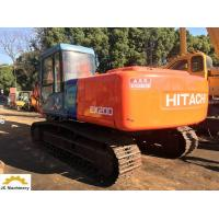China Second Hand Hitachi Excavator / Hydraulic Crawler Excavator EX200-3 Backhoe on sale