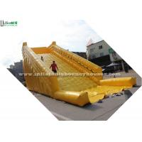 Wholesale Yellow Inflatable Zorb Balls Ramp For Grass Ball Or Roller 8m from china suppliers