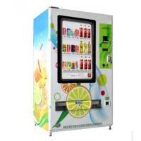 China Interactive 55 inch Touch Operated Snack Vending Machines for Bus Station on sale