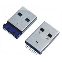 Wholesale USB A / M 90 Degree Sinking Board Tyle USB  Female Connector from china suppliers