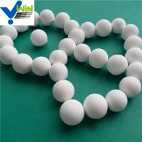 Wholesale Highly wear resistant alumina catalyst support ceramic ball/beads/pellets from china suppliers