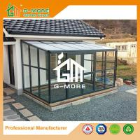 Wholesale Luxury Box Type Aluminium Frame + Tempered Glass Super Strong Large Lean to Glasshouse - 242 X 392 X 237CM (L X W X H) from china suppliers