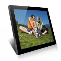 Wholesale Acrylic 19 Inch High Resolution Digital Picture Frame With Clock And Calendar from china suppliers