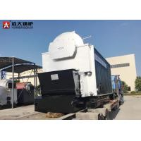 Wholesale 10 Ton Bagasse Fired Steam Boiler , Large Stove Biomass Boiler For Paper Mill from china suppliers
