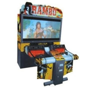 Wholesale Acrylic 55 LCD Rambo Simulator Arcade Game Machine from china suppliers