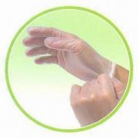 Wholesale Disposable Vinyl Examination Gloves, Comply with FDA and EN455 Standards from china suppliers