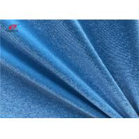 Wholesale Korean Warp Knitting Spandex Velvet Fabric 92 Polyester 8 Spandex For Women Dress from china suppliers