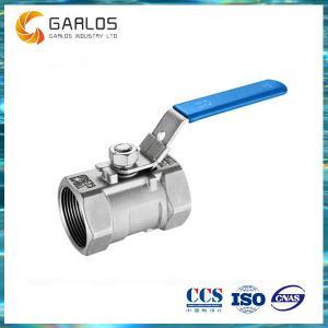 Best 1PC female thread stainless steel ball valve wholesale