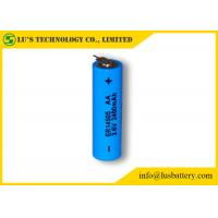 China ER14505 Size AA 3.6 V 2.4Ah Lithium Thionyl Chloride AA Battery With Tabs on sale