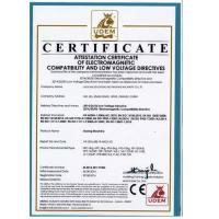 WUXI JINCHEN DYEING AND FINISHING MACHINERY CO.,LTD. Certifications