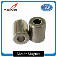 Permanent Segment Custom Made Magnets High Efficiency For DC Motor Generator for sale