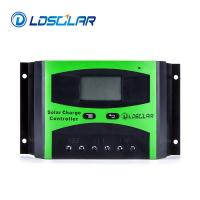China LDSOLAR PWM solar charge controller 3A 12V/24V Auto work with current display for off grid solar home system for sale
