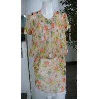 Wholesale Silk Print Dress from china suppliers