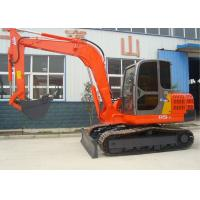 China Rubber Tire Compact Wheel Excavator Machinery , Construction Excavator on sale