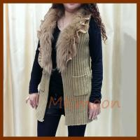 Quality rabbit fur sweater sw210# for sale