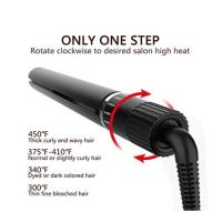 Wholesale Hair Straightener Curling Iron Hair Curler Flat Iron 2 in 1 Tourmaline Ceramic Salon Hair Straightener for All Hair Type from china suppliers
