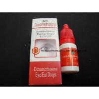 Wholesale Clear Dexamethasone Ear Drops , Dexamethasone Eye Drops For Non - Infectious Inflammatory Conditions from china suppliers