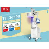 Buy cheap Three Wavelength  Hair Loss Treatment Machine LED Light Color Touch Sreen Diode Laser from wholesalers