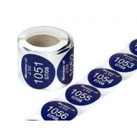 Buy cheap Numbered Label (XH-SF003) from wholesalers