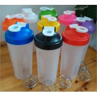 Buy cheap BPA free shaker water bottle,600ml shaking water bottle,The protein plastic water bottle from wholesalers