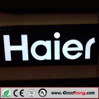 Wholesale Outdoor advertising backlit ABS letter sign from china suppliers