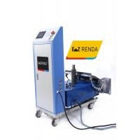 China 2019 Intelligent Touchscreen Plastering Machine / Portable Construction Machinery Cement Mortar Rendering Machine on sale