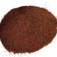 Wholesale 150 Mesh Water Jet Cutting Abrasive Garnet Sand Red Garnet Sand Easy Clean Up from china suppliers