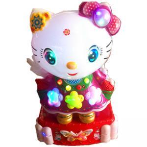 Wholesale Hello Kitty Cat Shape Kiddie Ride Machines /  Kids Amusement Rides from china suppliers
