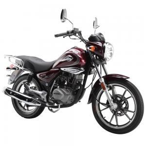 China Sanya Gas Powered Street Bikes 150CC Hand / Foot Brake 30000cd Luminous LED Head Light on sale