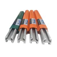 China 320a aluminum conductor bar for overhead crane for sale