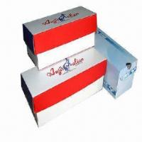 Paper Gift Box with Matte Lamination Surface Finish, Available in Various Shapes for sale