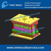 Buy cheap Thin wall plastic cup injection mould company, IML for thin wall container mould from wholesalers