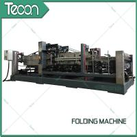 Wholesale Energy Saving Cement Paper Bag Folding Machine , Bottom Width 100 - 150mm from china suppliers