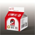 China 500ml,1000ml Milk Gable Top Cartons for sale