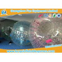 China Customized Transparent Inflatable Zorb Ball Hamster Ball With Digital Printing on sale
