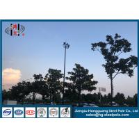 Wholesale Hot Dip Galvanised High Mast Light Pole For Commercial Area With Lifting System from china suppliers