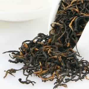 Wholesale Hand Made Flavored Keemun Black Tea , Chinese Organic Black Tea 50g/Kraft Bag from china suppliers