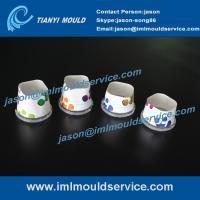 Wholesale manufacture excellent quality of two cavities thin walls IML dry fruits containers mould from china suppliers