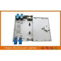 Wholesale 4 Ports FTTH Optical Fiber Termination Box Pre-terminated 12 Cores Fusion Splice Box from china suppliers