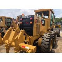 Yellow Used Cat 140h Grader Japan Made Good Condition With 21000kg Operate Weight for sale