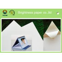 Buy cheap 100% Virgin Wood Pulp Glossy Printing Paper White Art Cardboard Eco Friendly from wholesalers