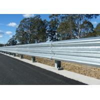 Wholesale Livestock Steel Highway Guard Rail Anti Corrosion Silver / Green / Yellow Color from china suppliers