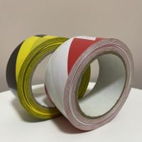 China Red And White PVC Lane Marking Tape , Colorful Crime Scene Caution Tape for sale