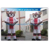 High Outdoor Inflatable Advertising Cartoon , Promotion Inflatable Animals For Adidas