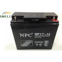 Wholesale 12 Volt 17Ah Deep Cycle Sealed Battery for Emergency Equipment from china suppliers