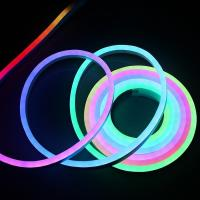 Buy cheap Digital Dream Color RGB LED Neon Flex Flexible 12V IP65 Outdoor Decoration from wholesalers