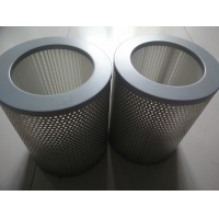 Wholesale Foldable Industrial Replacement Dust Cartridge Filter Element 518m³/hour from china suppliers