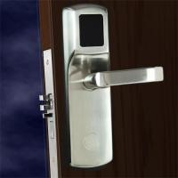FCC Hotel Electronic Door Locks , Electronic Front Door Lock Stainless Steel Material for sale